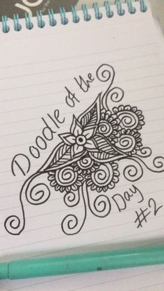 There is another craze is to draw patterns, flowers, mandala patterns in ink. Doodle Drawings, Cute Drawings, Drawings Of Flowers, Earth Drawings, Sharpie Drawings, Sharpie Doodles, Doodle Flowers, Zen Doodle, Doodle Art