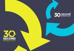 30 secondpromos.co.uk // Branding on Behance