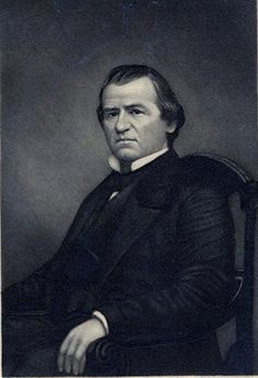 Andrew Johnson (December 1808 – July the US President, serving from 1865 to Johnson became president as he was vice president at the time of the assassination of Abraham Lincoln. Carolina Pride, North Carolina, New President, Us Presidents, July 31, December, Abraham Lincoln, History, Portrait
