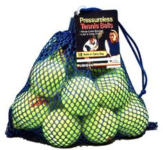 Tourna Mesh Bag of Pressureless Tennis Balls Unique Sports Me And My Dog, Sport Tennis, Sports Equipment, Balls, Mesh, Carry Bag, Amazon, Outdoors, Unique