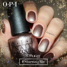 Today's #OPIStarlight Look of the Day is from Elena S featuring OPI's Press * for Silver gifted to her for being a Preen.Me VIP. Discover more glitzy nail creations here: