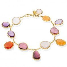 Mixed Stone Bracelet - Pippa Clarke