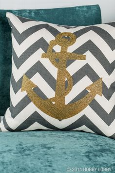 Ahoy there crafters! Add a touch of nautical glamour to any project by using the Cricut Explore™ design and cut system. It comes with thousands of pre-set projects while also allowing you to design your own!