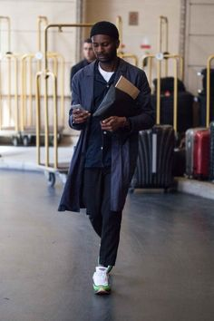 http://chicerman.com  billy-george:  Sick outfit  Paris Fashion Week  Photo by Christopher Fenimore  #streetstyleformen