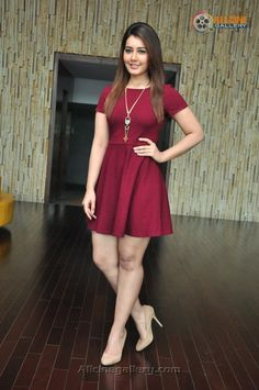 Raashi Khanna's Great Sexy Legs In Burgundy Mini Frock - Part: 2 Sexy Dresses, Evening Dresses, Short Sleeve Dresses, Mini Frock, Girls In Mini Skirts, Cute Woman, Indian Girls, Beautiful Actresses, Indian Beauty