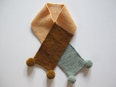Colorblock Scarf | Misha and Puff