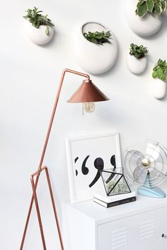 DIY Copper Pipe Floor Lamp | I Spy DIY, February 2016