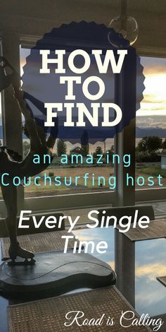 How to find an amazing couchsurfing host