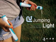 A Jump Rope.... Transforms Kinetic Energy into Light | Inhabitat - Sustainable Design Innovation, Eco Architecture, Green Building