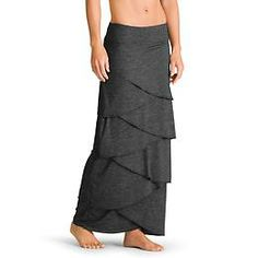 Feather Falls Maxi Skirt - Minimal lightweight layers stack up to create maximum style in this pull-on maxi skirt.
