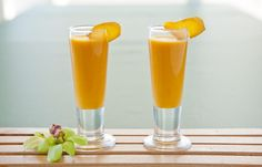Aloha Events Catering Appetizer  Coconut Carrot + Ginger Soup Shooters (Vegan)