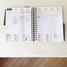 """""""love your list making (and check marks!) in the weekly spread grid space, @carolines_passion ✔️➕ #gettoworkbook"""" Weekly Spread, Planners, Grid, Love You, Bullet Journal, Passion, How To Plan, Space, Books"""