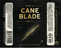 Backpocket Brewing Cane Blade Double IPA