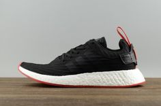 6ebee3bc8 High Quality Men Adidas Originals NMD R2 PK Black Red White BA7252 For Sale