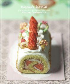 *デコレーション* - *Nunu's HouseのミニチュアBlog* 1/12サイズのミニチュアの食べ物、雑貨などの制作blogです。