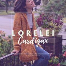 Lorelei Cardigan Crochet Pattern Easy/Intermediate | Etsy Crochet Cardigan Pattern, Easy Crochet Patterns, Knitting Patterns, Crochet Jacket, Cardigan Oversize, Hooded Cardigan, Crochet Yarn, Crochet Hooks, Back Post Double Crochet