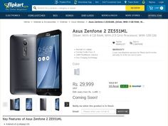 #Asus ZenFone 2 ZE551ML 128GB Model three variants of ZenFone 2 handsets in #India. @sagmart  #sagmart