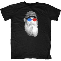 Uncle Si 3D Glasses t-shirt.