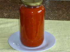 Piteis da Dinha: Molho de tomate CASEIRO (PODE SER COM Servido mas ...