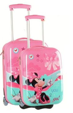 Set 2 Valigie Trolley Rigidi Disney Minnie - TocTocShop.com -