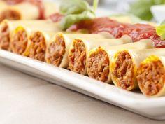 Canelones de Atún con Salsa Bechamel | Deliciosos canelones rellenos de Atún con salsa bechamel. Riquísimos para una buena comidita con la familia o amigos.