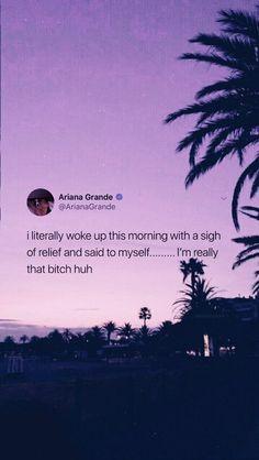 Ariana Grande Anime, Ariana Grande Quotes, Ariana Grande Lyrics, Ariana Grande Pictures, Text Quotes, Words Quotes, Life Quotes, Victoria Secret Wallpaper, Ariana Grande Wallpaper