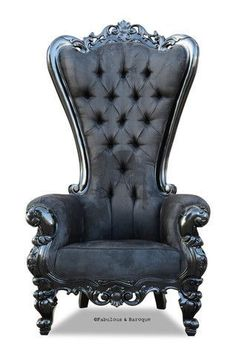 Modern Baroque Rococo Furniture and Interior Design - The Absolom Roche chair, exclusive to Fabulous & Baroque, is the first in a collection of fine furn - Rococo Chair, Baroque Furniture, Fine Furniture, Rustic Furniture, Furniture Decor, Modern Furniture, Outdoor Furniture, Victorian Chair, Vintage Furniture