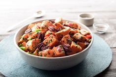 Recipe: Sweet Potato-Pecan Salad by John Willoughby | Photo: Sabra Krock for The New York Times