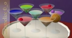 Cocktail clutter at Caramelize • Sims 4 Updates