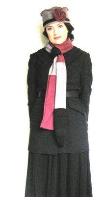 alisaburke: Vintage Inspired Fleece Hat Tutorial