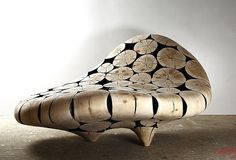 Pine Art Furnitures wall cover chair bench