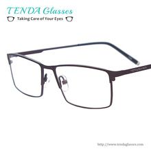 3e2075f654 De Metal Borde Completo Gafas Hombres Rectángulo Gafas de Miopía Marcos de  Anteojos De Lentes Ópticas