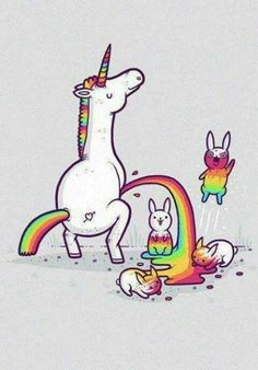 #unicorn #rainbows