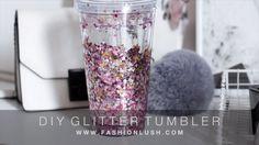 Make A Glitter Tumbler