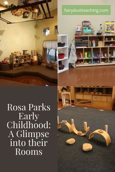 Rosa Parks Early Childhood Reggio Inspired Classroom