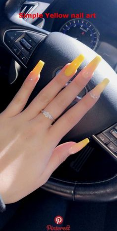 32 Lovely Jelly Nails Ideas That You Should Try! 32 Lovely Jelly Nails Ideas That You Should Try! Summer Acrylic Nails, Best Acrylic Nails, Acrylic Nail Designs, Acrylic Nails Yellow, Nail Summer, Acrylic Art, Spring Nails, Aycrlic Nails, Gold Nails