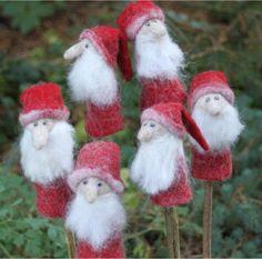 Fingerpuppe Nikolaus by Filzkram.de  Let's play Christmas!