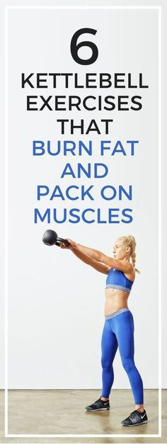 6 kettlebell exercises that will help you burn fat and pack on more muscles. | Posted By: AdvancedWeightLossTips.com