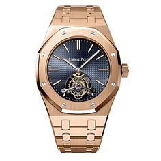 Discover a large selection of Audemars Piguet Royal Oak Tourbillon watches on - the worldwide marketplace for luxury watches. Compare all Audemars Piguet Royal Oak Tourbillon watches ✓ Buy safely & securely ✓ Audemars Piguet Rose Gold, Audemars Piguet Watches, Rolex Datejust, Mens Rose Gold Watch, Tourbillon Watch, Expensive Watches, Luxury Watches For Men, Cool Watches, Men's Watches