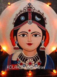 50 Most Beautiful Face Rangoli Design (ideas) that you can make during any occasion on the living room or courtyard floors. Rangoli Side Designs, Easy Rangoli Designs Diwali, Simple Rangoli Designs Images, Rangoli Designs Latest, Small Rangoli Design, Rangoli Patterns, Colorful Rangoli Designs, Rangoli Ideas, Diwali Rangoli