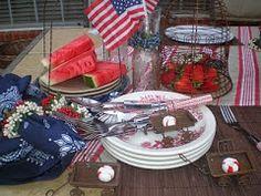 Memorial Day Tablescape