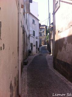 Leiria - ruas, travessas e vielas