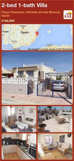 2-bed 1-bath Villa in Playa Flamenca, Alicante (Costa Blanca), Spain ►€189,995 #PropertyForSaleInSpain
