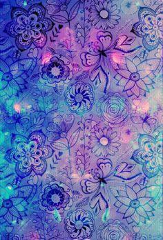 Flores de distintos colores y tamaños