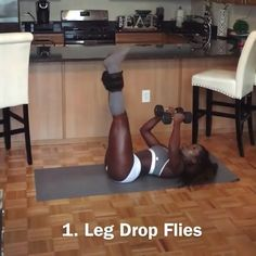 Do you have weak legs with thigh fat and flaccid muscles but dream that they are curved and firm? You will find in this article the top 10 leg strengthening exercises to strengthen flaccid muscles and burn thigh fat. Credit: Ins Fitness Workouts, Sport Fitness, Butt Workout, Fitness Tips, At Home Workouts, Health Fitness, Dumbbell Workout, Leg Strengthening Exercises, Leg Exercises