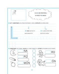actividades letra l preescolar  Buscar con Google  vocales