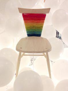 Cadeira da Ercol reinterpretada por Donna Wilson, para o projeto A child'sdream, está disponível para leilão beneficente