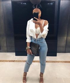 ideas for fashion style outfits going out classy shoes Mode Outfits, Trendy Outfits, Summer Outfits, Fashion Outfits, Fashion Trends, Bad And Boujee Outfits, Cute Going Out Outfits, Fashion Ideas, Dope Fashion