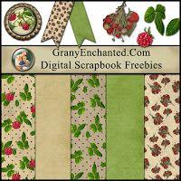 GRANNY ENCHANTED'S BLOG: *** Free Digital Scrapbook Kit: old APRIL LDS BLOG TRAIN