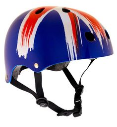 #SFR Features:Covers a 4cm size rangeBlack chin strapVarious Vibrant finishesCertified to EN1078 safety standardComes with foam insertsMaterials:Shell: ABSInner: EPSThe SFR Essentials Helmet comes in a wide range of colours and styles, fitted as standard with easy-fit foaminserts for a perfect fit. The 11 ventilation holes provide great air flow to keep the user cool andcomfortable. Certified to EN1078 standards.